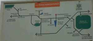 mapa como llegar a los Guachimontones